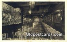 res050067 - Jimmie Dwyer's Saw Dust Trail Restaurant, New York City, NYC Postcard Post Card USA Old Vintage Antique