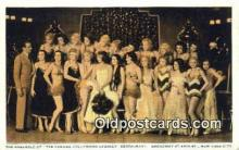 res050116 - Famous Hollywood Cabaret Restaurant, New York City, NYC Postcard Post Card USA Old Vintage Antique