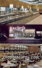 res050178 - Hectors Restaurant, New York City, NYC Postcard Post Card USA Old Vintage Antique