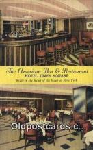 res050180 - American Bar & Restaurant, New York City, NYC Postcard Post Card USA Old Vintage Antique