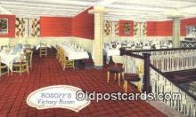 res050203 - Rosoff's Restaurant, New York City, NYC Postcard Post Card USA Old Vintage Antique