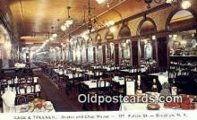 res050206 - Brooklyn Gage & Tollner's Restaurant, New York City, NYC Postcard Post Card USA Old Vintage Antique