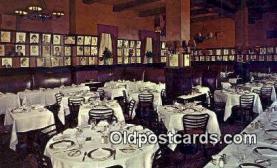 res050215 - Sardi's Restaurant, New York City, NYC Postcard Post Card USA Old Vintage Antique