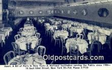 res050217 - Henri Restaurant, New York City, NYC Postcard Post Card USA Old Vintage Antique