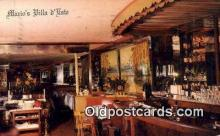 res050224 - Mario's Villa O'Este Restaurant, New York City, NYC Postcard Post Card USA Old Vintage Antique