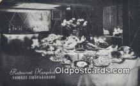res050233 - Restaurant Kungsholm Restaurant, New York City, NYC Postcard Post Card USA Old Vintage Antique