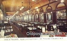 res050236 - Gage & Tollner's, Brooklyn Restaurant, New York City, NYC Postcard Post Card USA Old Vintage Antique