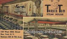 res050237 - Trader Tom Steak House Restaurant, New York City, NYC Postcard Post Card USA Old Vintage Antique