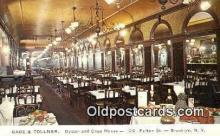 res050247 - Brooklyn Gage & Tollner's Restaurant, New York City, NYC Postcard Post Card USA Old Vintage Antique