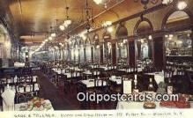 res050248 - Brooklyn Gage & Tollner's Restaurant, New York City, NYC Postcard Post Card USA Old Vintage Antique