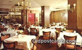 res050250 - Kleine Konditorei Café & Restaurant, New York City, NYC Postcard Post Card USA Old Vintage Antique