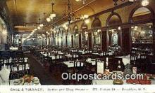 res050251 - Brooklyn Gage & Tollner's Restaurant, New York City, NYC Postcard Post Card USA Old Vintage Antique
