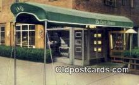 res050252 - La Café Arnold Restaurant, New York City, NYC Postcard Post Card USA Old Vintage Antique