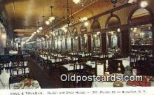 res050278 - Gage & Tollner's Restaurant, Brooklyn New York, NY Postcard Post Card USA Old Vintage Antique