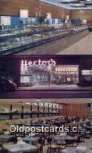 res050284 - Hectors Restaurant, New York City, NYC Postcard Post Card USA Old Vintage Antique