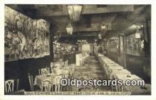 res050298 - 156 W 44th St. Jimmie Dwyer's Saw Dust Trail Restaurant, New York City, NYC Postcard Post Card USA Old Vintage Antique