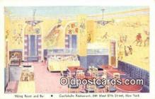 res050303 - Viking Room & Bar Restaurant, New York City, NYC Postcard Post Card USA Old Vintage Antique