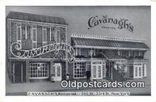 res050304 - Cavanagh's Restaurant, New York City, NYC Postcard Post Card USA Old Vintage Antique