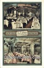 res050306 - The Lobster Oyster & Chop House Restaurant, New York City, NYC Postcard Post Card USA Old Vintage Antique