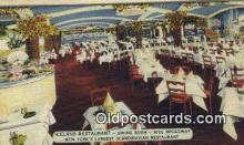 res050319 - Linen, Iceland, Scandinavian Restaurant, New York City, NYC Postcard Post Card USA Old Vintage Antique