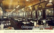 res050325 - Gage & Tollner's Restaurant, Brooklyn New York, NY Postcard Post Card USA Old Vintage Antique