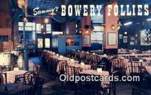 res050328 - Sammy's Bowery Follies Restaurant, New York City, NYC Postcard Post Card USA Old Vintage Antique
