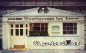 res050330 - Weathervane Inn Restaurant, New York City, NYC Postcard Post Card USA Old Vintage Antique