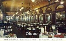 res050338 - Gage & Tollner's, Brooklyn Restaurant, New York City, NYC Postcard Post Card USA Old Vintage Antique