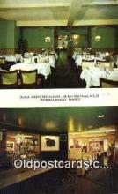 res050346 - Black Angus Restaurant, New York City, NYC Postcard Post Card USA Old Vintage Antique