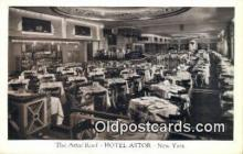res050356 - Astro Roof, Hotel Astor Restaurant, New York City, NYC Postcard Post Card USA Old Vintage Antique