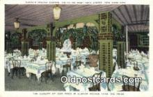 res050374 - Zucca's Italian Garden Restaurant, New York City, NYC Postcard Post Card USA Old Vintage Antique