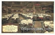 res050376 - Gallagher's Steak House Restaurant, New York City, NYC Postcard Post Card USA Old Vintage Antique