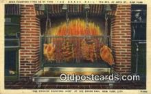 res050377 - Linen, The Brass Rail Restaurant, New York City, NYC Postcard Post Card USA Old Vintage Antique