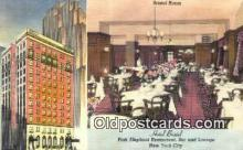 res050378 - Linen, Pink Elephant Restaurant, New York City, NYC Postcard Post Card USA Old Vintage Antique