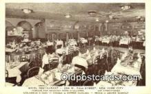 res050379 - Wivel Restaurant, New York City, NYC Postcard Post Card USA Old Vintage Antique