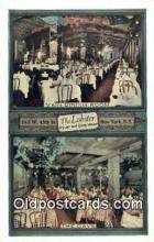 res050388 - The Lobster Oyster & Chop House Restaurant, New York City, NYC Postcard Post Card USA Old Vintage Antique