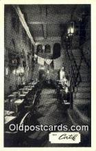 res050397 - The Cortile Restaurant, New York City, NYC Postcard Post Card USA Old Vintage Antique