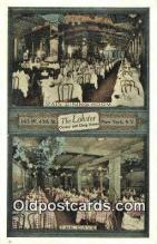 res050400 - The Lobster Oyster & Chop House Restaurant, New York City, NYC Postcard Post Card USA Old Vintage Antique