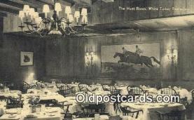 res050402 - White Turkey  Restaurant, New York City, NYC Postcard Post Card USA Old Vintage Antique