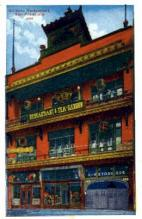 res100023 - San Francisco, California, CA, USA, Chinese Restaurant Postcard Postcards