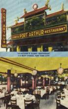 res100027 - Port Arthur, New York City, New York, NY, USA, Chinese Restaurant Postcard Postcards