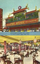 res100028 - Port Arthur, New York City, New York, NY, USA, Chinese Restaurant Postcard Postcards