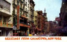 res100036 - Chinatown, New York, NY, USA, Chinese Restaurant Postcard Postcards