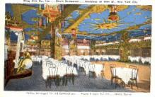 res100040 - Chin's, New York City, New York, NY, USA, Chinese Restaurant Postcard Postcards