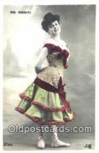 reu001025 - De Monti, postcard postcards