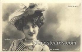 reu001152 - Paris, De Villers Reutlinger Postcard Postcards