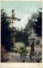 rgn001169 - The Garden Crucifix, religion, religious, Postcard Postcards