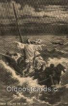 rgn001172 - Christ Stilling The Tempest, religion, religious, Postcard Postcards