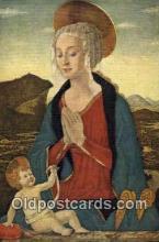 rgn001189 - Artist Alessio Baldovinetti, religion, religious, Postcard Postcards
