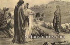 rgn001221 - Ruth & Naomi, religion, religious, Postcard Postcards